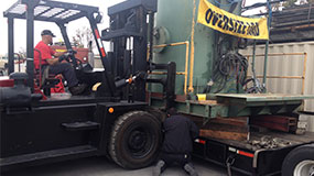 San Diego, CA Machinery Movers | Oversized Forklift