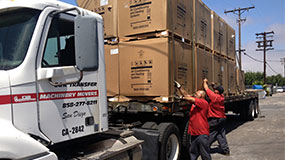 San Diego, CA Heavy Machinery Movers | Boxed and Crated Equipment