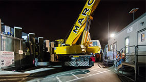 San Diego, CA Machinery Movers | Night Craning