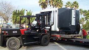 San Diego, CA Heavy Machinery Movers | Lab Equipment