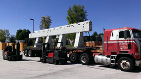 San Diego, CA Heavy Equipment Movers | Building Mechanical Eqipment