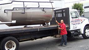 San Diego, CA Heavy Machinery Movers | Tanks